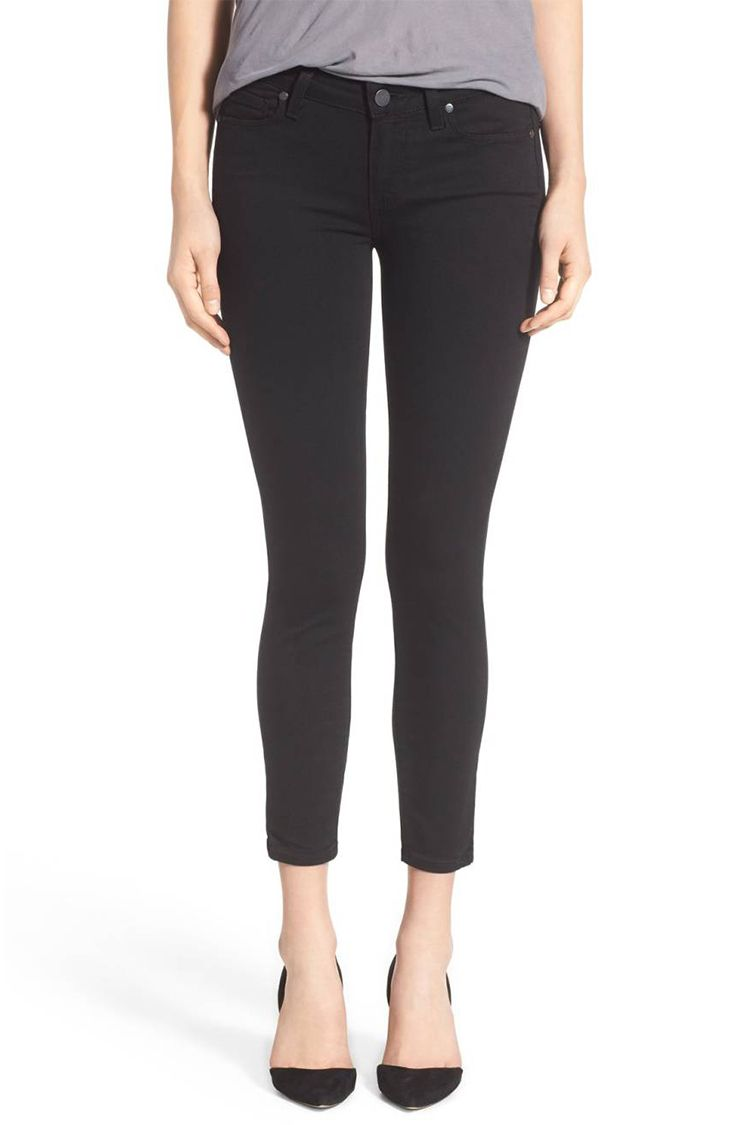 paige verdugo crop black jeans