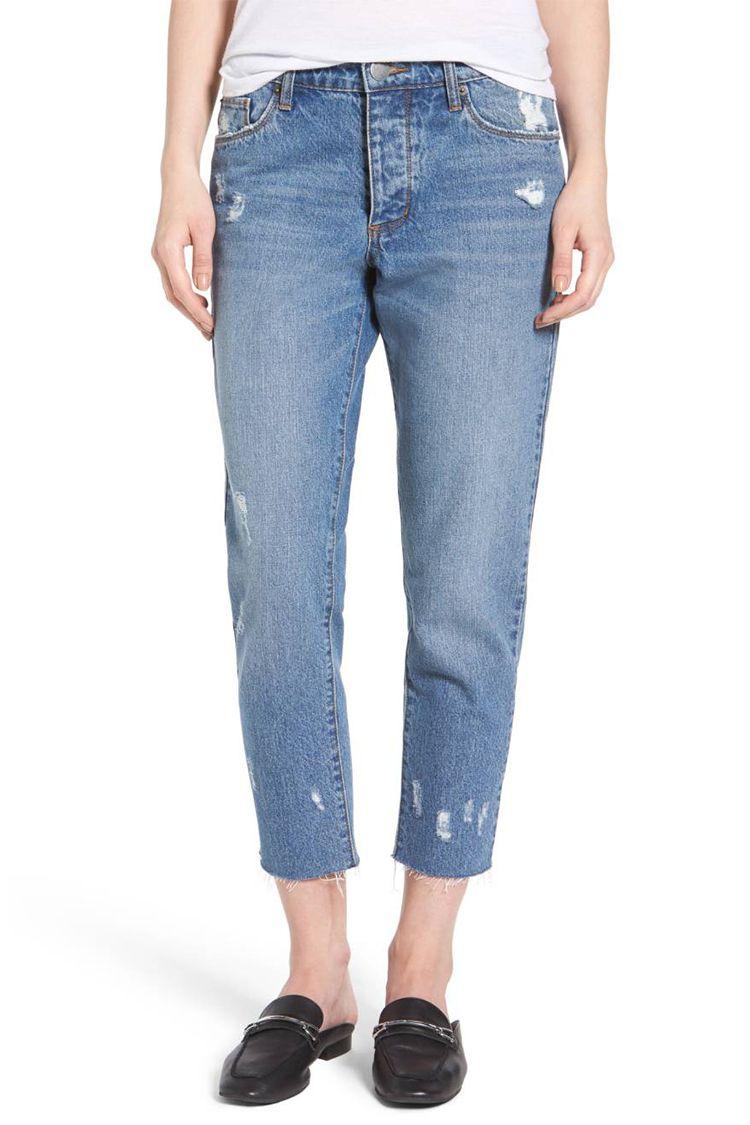 sts blue cropped boyfriend jeans