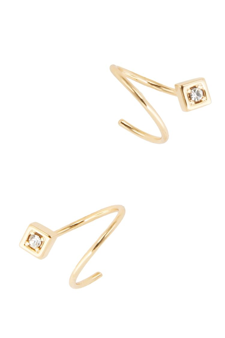 jules smith crystal wrap earrings