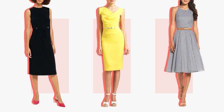 Avoid Sticky Situations With The Help Of These Office Friendly Midi Dresses
