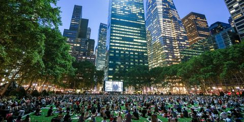 outdoor movies NYC 2017