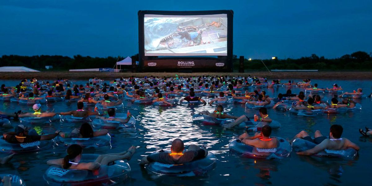 Jaws On The Water In Austin Texas Added Four More Movie