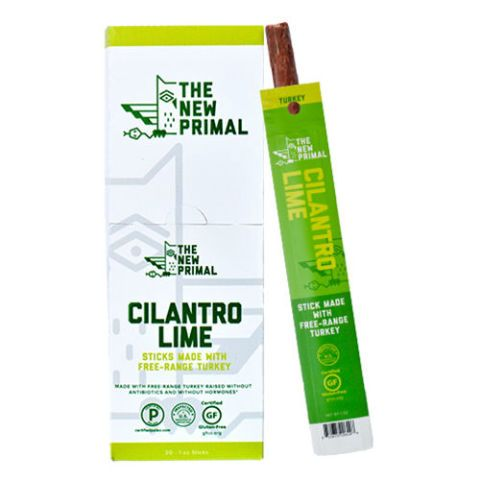 The New Primal Free Range Cilantro Lime Turkey Sticks