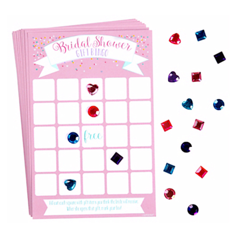 Bingo Bridal Shower Game