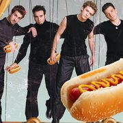 Joey Fatone From NYSYNC Selling His Hotdogs On HSN Summer 2017