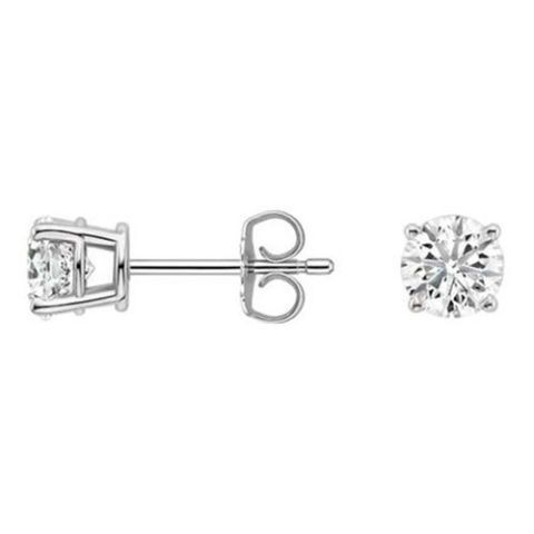 brilliant earth round diamond studs