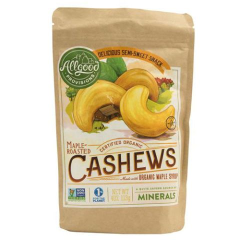 Allgood ProvisionsMaple-Roasted Cashews