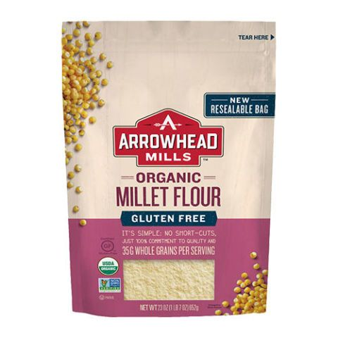 Arrowhead Mills Organic Gluten Free Millet Flour