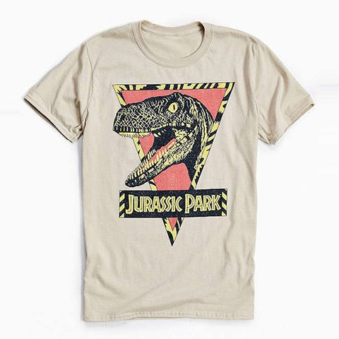 "<p><strong data-redactor-tag=""strong"" data-verified=""redactor""><em data-redactor-tag=""em"" data-verified=""redactor"">$28</em></strong> <a href=""https://www.urbanoutfitters.com/shop/jurassic-park-tee-001?category=SEARCHRESULTS&amp;color=023"" target=""_blank"" class=""slide-buy--button"" data-tracking-id=""recirc-text-link"">BUY NOW</a></p><p>UO's <em data-redactor-tag=""em"" data-verified=""redactor"">Jurassic Park </em>collection is giving us serious '90s flashbacks.&nbsp;</p>"