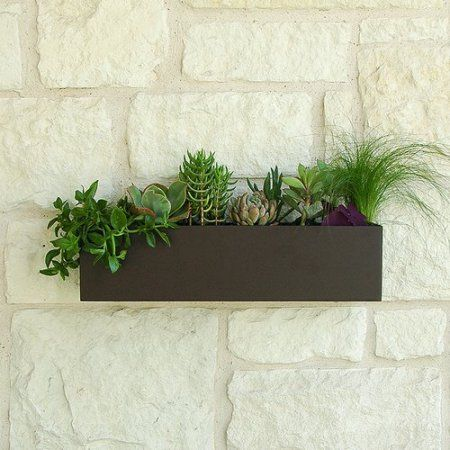 Urban Mettle Clarkesville Steel Wall Planter