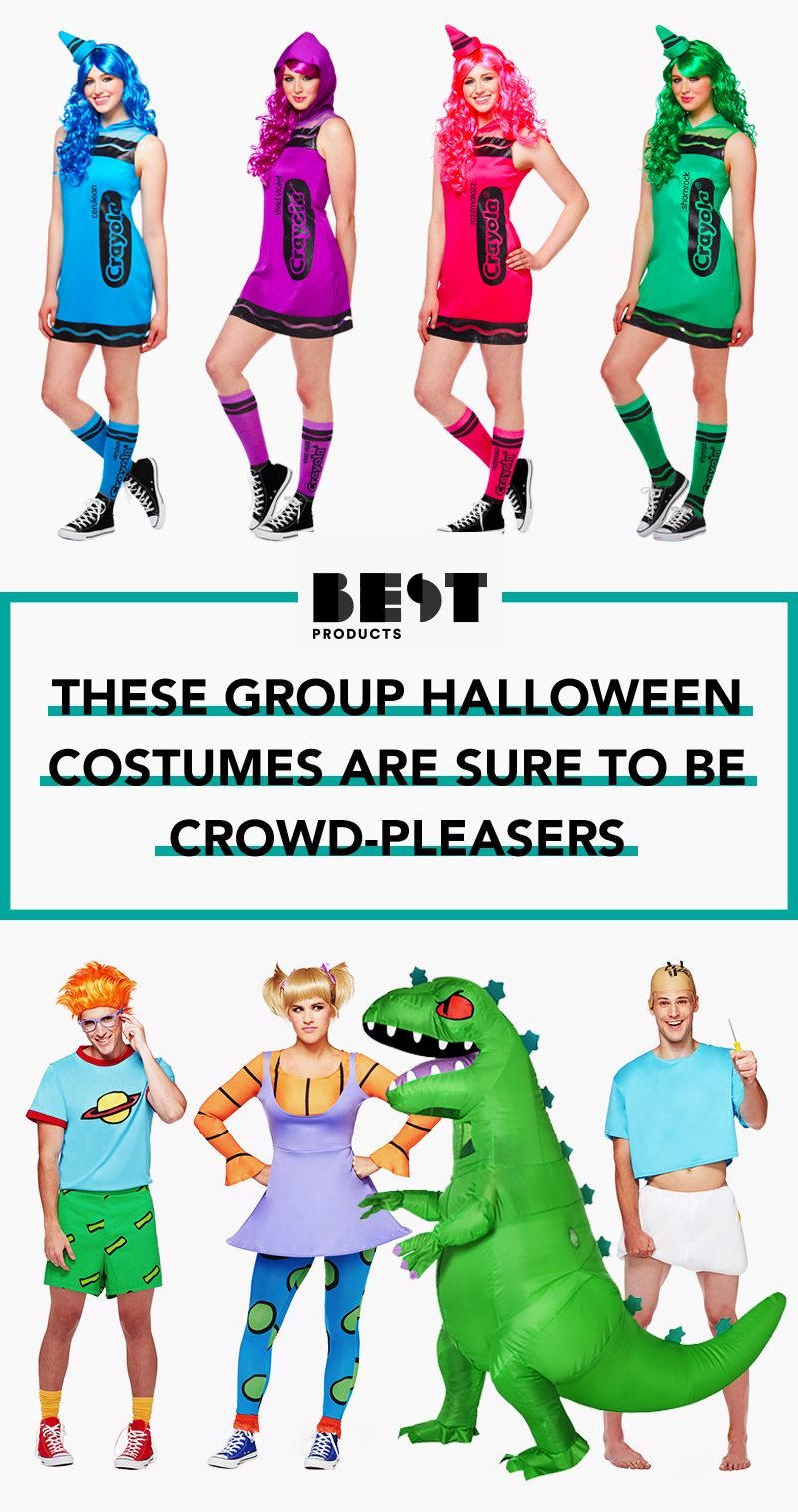121c4ef8 32 Best Group Halloween Costumes for 2018 - Fun Group Costume Ideas for  Friends