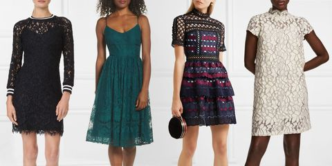 lace dresses for fall