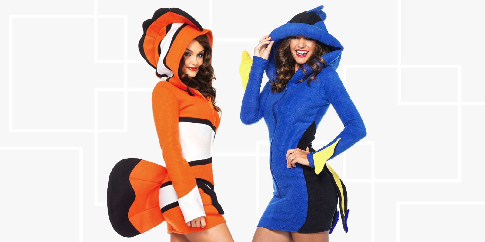 couples halloween costumes  sc 1 st  BestProducts.com & 17 Best Couples Costumes for Halloween 2018 - Couples Halloween ...