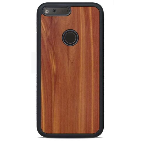 Carved Wood Case Google Pixel