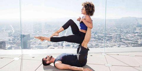 Skyspace LA yoga