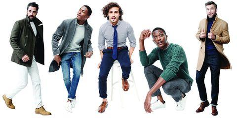 Clothing, Footwear, Leg, Trousers, Sleeve, Denim, Jeans, Social group, Textile, Standing,