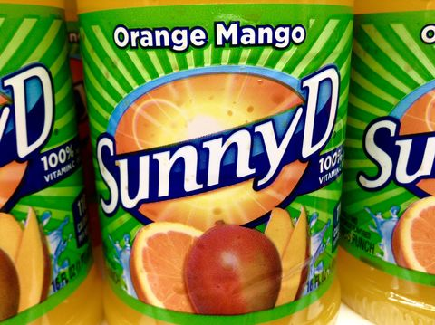 Logo, Ingredient, Natural foods, Citrus, Tangerine, Packaging and labeling, Fruit, Peach, Junk food, Grapefruit,
