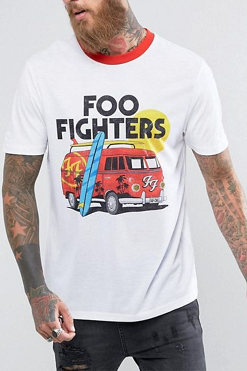 "<p><strong data-redactor-tag=""strong"" data-verified=""redactor""><em data-redactor-tag=""em"" data-verified=""redactor"">$29</em></strong> <a href=""http://us.asos.com/asos/asos-foo-fighters-band-relaxed-t-shirt-with-retro-ringer/prd/8368011?clr=white&amp&#x3B;SearchQuery=&amp&#x3B;cid=7616&amp&#x3B;pgesize=204&amp&#x3B;pge=1&amp&#x3B;totalstyles=1752&amp&#x3B;gridsize=3&amp&#x3B;gridrow=51&amp&#x3B;gridcolumn=3"" target=""_blank"" class=""slide-buy--button"" data-tracking-id=""recirc-text-link"">BUY NOW</a></p><p>We're low-key obsessed with this one from ASOS! The California-cool '70s vibes of this Foo Fighters T-shirt takes the band tee to the next level. Rock them with the hottest <a href=""http://www.bestproducts.com/mens-style/g2998/new-vans-skate-shoes-slip-ons-old-skool-sneakers/"" target=""_blank"" data-tracking-id=""recirc-text-link"">new Vans skate shoes</a> for a killer end-of-summer look that'll turn you into a head-banger.</p>"