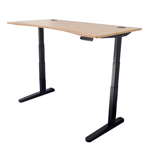 "<p><strong data-redactor-tag=""strong"" data-verified=""redactor""><em data-redactor-tag=""em"">from $435&nbsp;<a href=""https://www.fully.com/desks/desks-by-brand/jarvis-desks/jarvis-adjustable-height-desk-bamboo.html"" target=""_blank"" class=""slide-buy--button"" data-tracking-id=""recirc-text-link"">BUY NOW</a></em></strong></p><p><strong data-redactor-tag=""strong"" data-verified=""redactor"">Best Standing Desk Overall</strong></p><p>The Fully Jarvis Bamboo is the best standing desk in terms of overall value. It's sturdy, it can rise&nbsp;and lower smoothly, and it can support up to 350 pounds. Not only that, but the desk will complement any&nbsp;office.&nbsp;It's suitable for people up to 6 feet 7 inches tall, and it even comes with a gel-foam standing mat.<span class=""redactor-invisible-space"" data-verified=""redactor"" data-redactor-tag=""span"" data-redactor-class=""redactor-invisible-space""></span><br></p><p><span class=""redactor-invisible-space"" data-verified=""redactor"" data-redactor-tag=""span"" data-redactor-class=""redactor-invisible-space""><strong data-verified=""redactor"" data-redactor-tag=""strong"">More:&nbsp;</strong><span class=""redactor-invisible-space"" data-verified=""redactor"" data-redactor-tag=""span"" data-redactor-class=""redactor-invisible-space""><a href=""http://www.bestproducts.com/tech/gadgets/g2463/ergonomic-keyboards-for-pc-and-mac/"" data-tracking-id=""recirc-text-link"">The Best Ergonomic Keyboards for PC and Mac Users</a></span><br></span></p>"