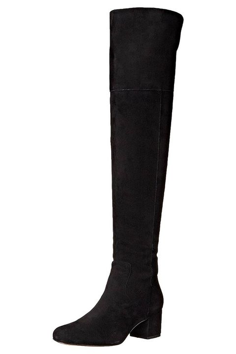 sam edelman elina black suede over the knee boots