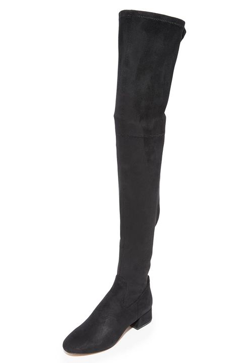 ef41b1f35e7 10 Best Over the Knee Boots for Fall 2018 - Tall Suede Over the Knee ...