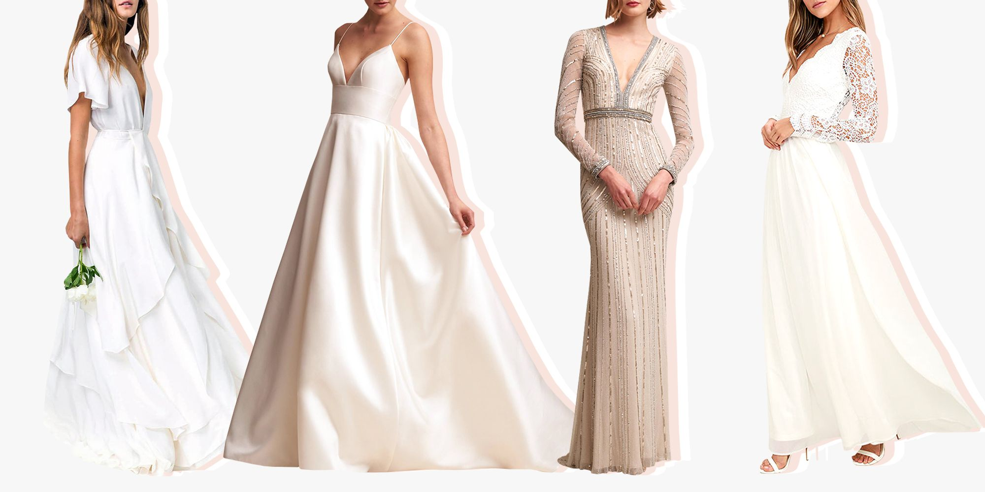 11 Gorgeous Fall Wedding Dresses to Wear Down the Aisle