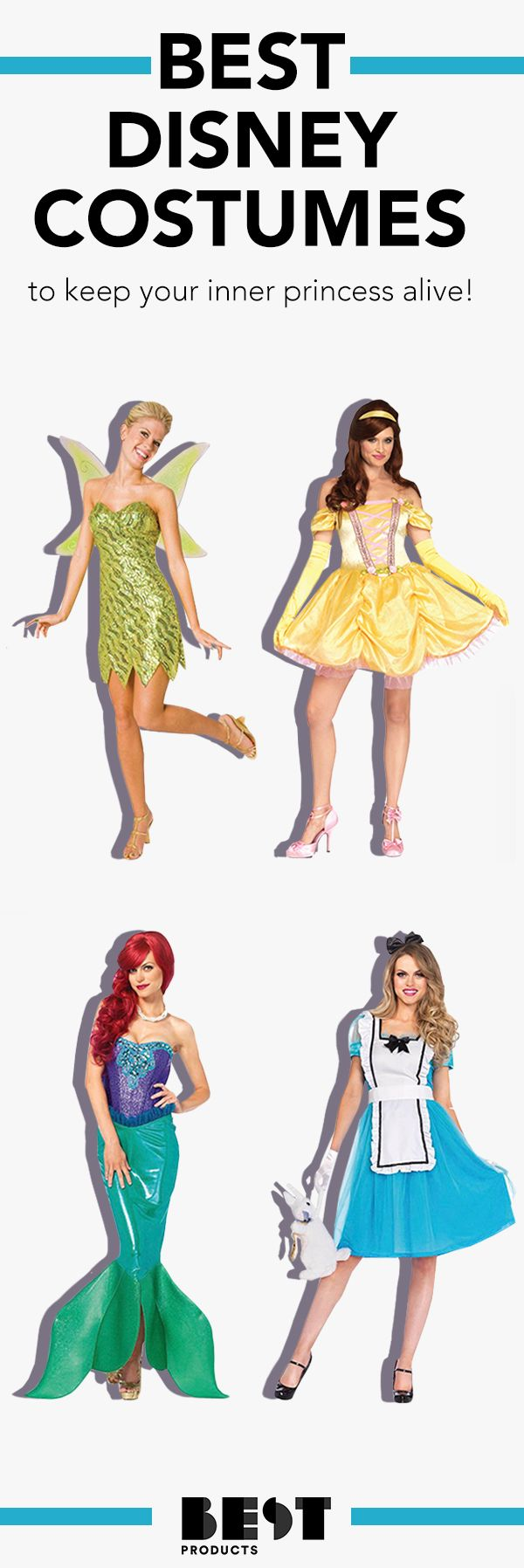 17 Best Disney Costumes for Adults in 2018 - Womens Disney Character ...