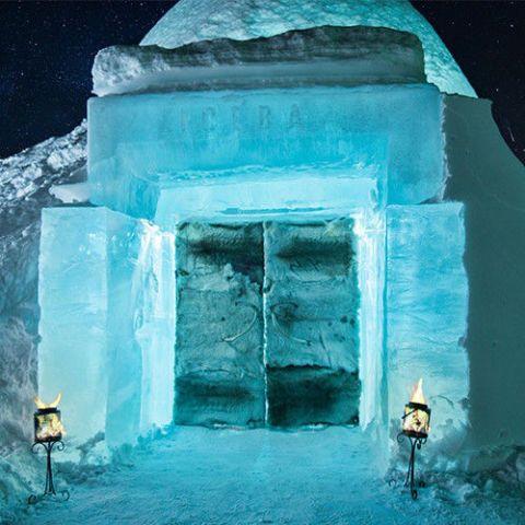 ICEHOTEL — Jukkasjärvi, Sweden