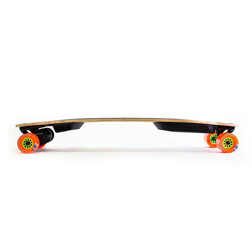 """<p><strong data-redactor-tag=""""strong""""><em data-redactor-tag=""""em"""">$1,499&nbsp&#x3B;<a href=""""https://www.amazon.com/Boosted-Generation-Dual-Electric-Skateboard/dp/B071ZJGT2W?tag=bp_links-20"""" target=""""_blank"""" class=""""slide-buy--button"""" data-tracking-id=""""recirc-text-link"""">BUY NOW</a></em></strong></p><p><strong data-redactor-tag=""""strong"""">Best for Brand Loyalists</strong></p><p><span class=""""redactor-invisible-space"""" data-verified=""""redactor"""" data-redactor-tag=""""span"""" data-redactor-class=""""redactor-invisible-space"""">Boosted Boards are one of&nbsp&#x3B;the most well-known electric skateboards, and they're&nbsp&#x3B;also one of the most reliable boards you can buy.&nbsp&#x3B;Capable of reaching top speeds of 22 miles per hour, the Dual+ model lets you get to your destinations quickly and easily thanks to its 2,000-watt motor. The board has regenerative braking and&nbsp&#x3B;climbs steep hills with ease, and it&nbsp&#x3B;has a long range<span class=""""redactor-invisible-space"""" data-verified=""""redactor"""" data-redactor-tag=""""span"""" data-redactor-class=""""redactor-invisible-space"""">. You have a choice of two batteries. The standard battery provides a 7-mile range, compared to the extended battery's 12-mile range. This board weighs about 15 pounds.<span class=""""redactor-invisible-space"""" data-verified=""""redactor"""" data-redactor-tag=""""span"""" data-redactor-class=""""redactor-invisible-space""""></span></span></span></p>"""
