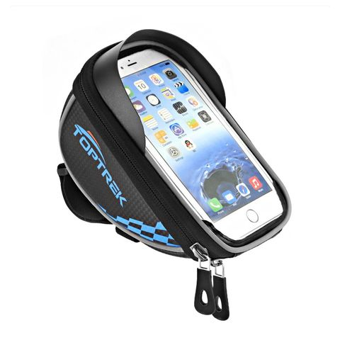 Toptrek Handlebar Bag Bike Phone Mount