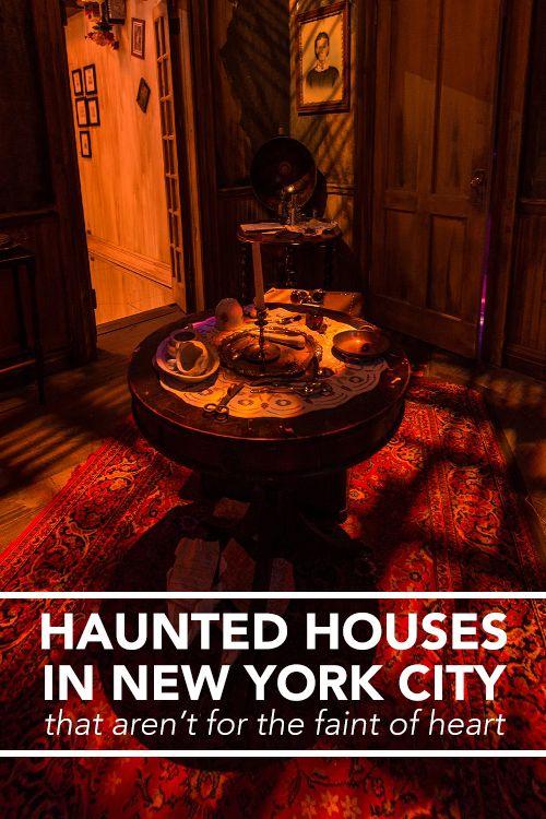 NYC Haunted Houses