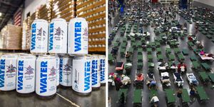 anheuser  bush water for hurricane harvey 2017 victims