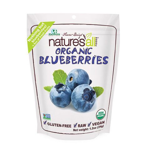 Natierra Nature's All Foods Freeze-Dried Blueberries