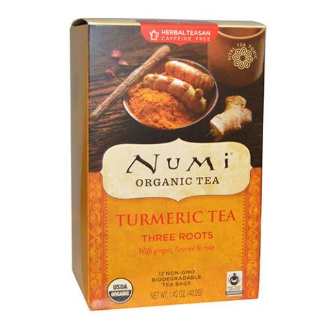 Numi Tea Organic Three Roots Turmeric Tea