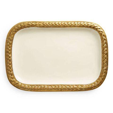 Marigold Artisans Braid Platter