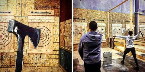 Bad Axe Throwing has locations all over the United States and Canada