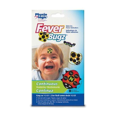 Physio Logic Fever-Bugz Stick-On Fever Indicator