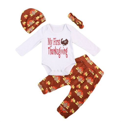 7f1a7eba3ab0 15 Best Baby Thanksgiving Outfits - Adorable Baby Outfits for ...