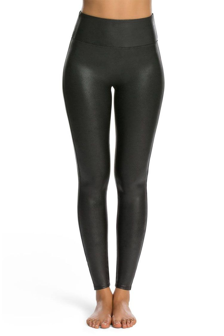 8 Best Faux Leather Leggings For Fall Spanx Amp Wilfred