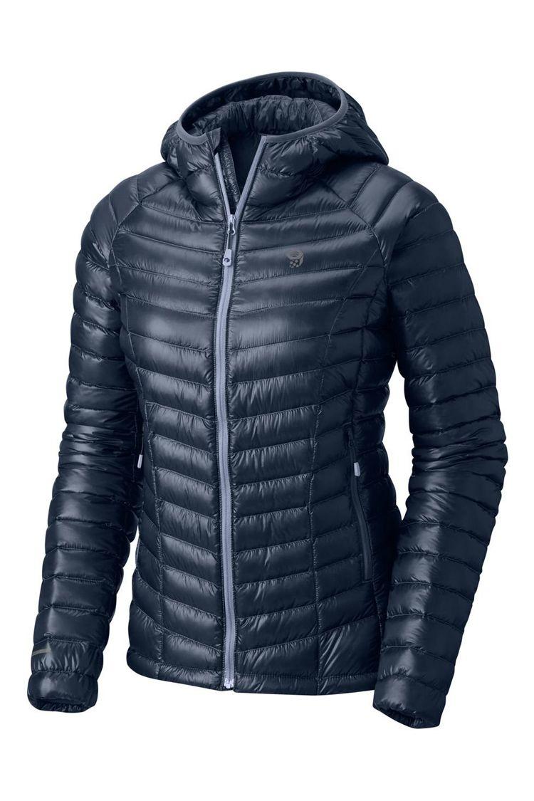 Mountain Hardwear Ghost Whisperer Hooded Down Jacket (Women's)