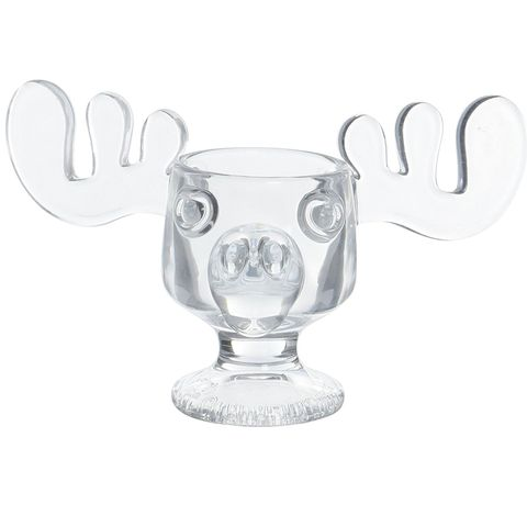 officially licensed national lampoons christmas vacation glass moose mug - Christmas Vacation Moose Mug Set
