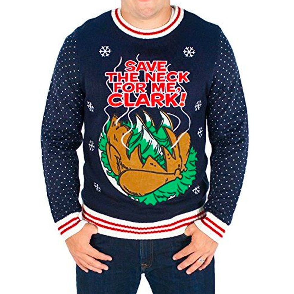 Save The Neck For Me Clark National Lampoons Sweater