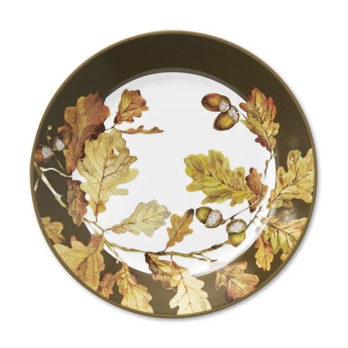 Williams-Sonoma Botanical Acorn Rim Dinner Plates  sc 1 st  BestProducts.com & Chic Thanksgiving Dinnerware for Hosting in 2018 - Thanksgiving ...