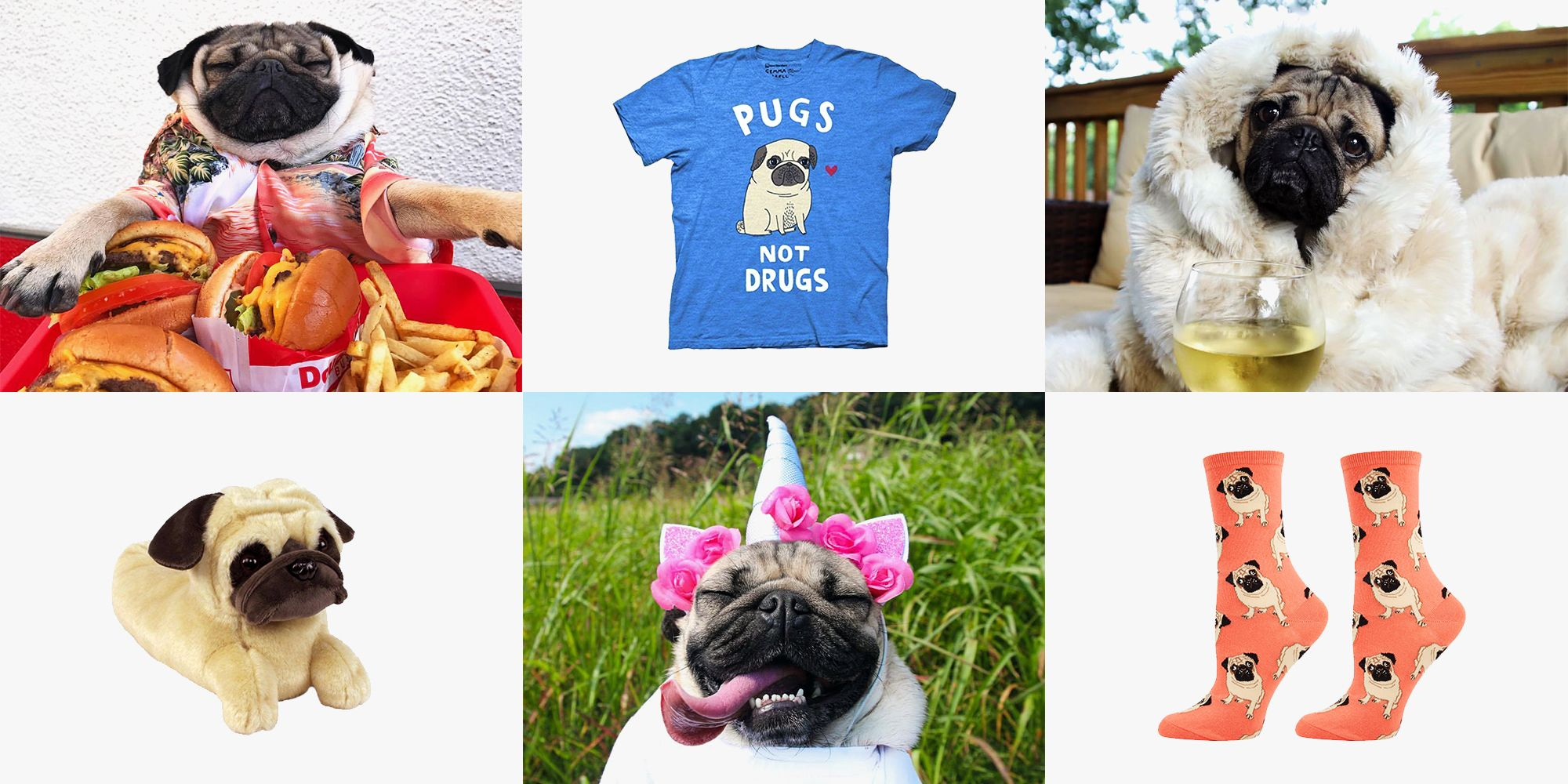 6a35f8d1 14 Best Gifts for Pug Lovers 2018 - Pug-Themed Gift Ideas & Merchandise