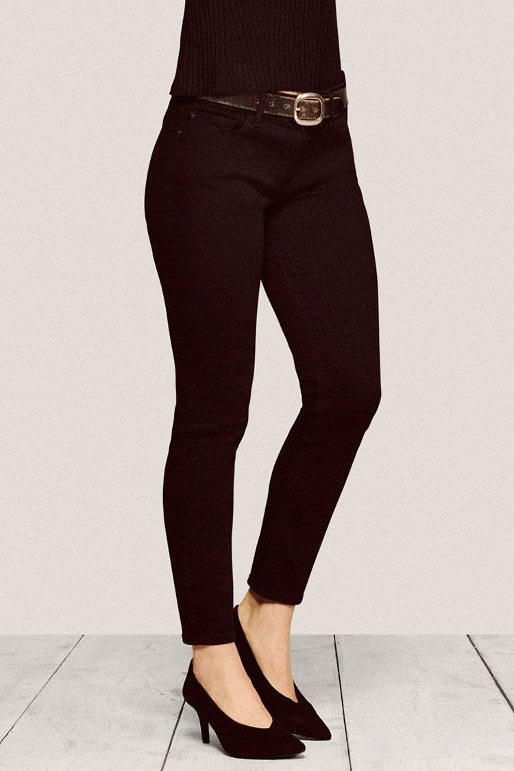 13 Best Black Skinny Jeans for Fall 2018 - Ripped and High Waisted Black  Jeans