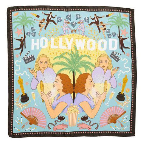 karen mabon hollywood silk scarf