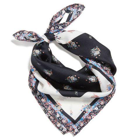 rebecca minkoff ditsy floral silk bandana