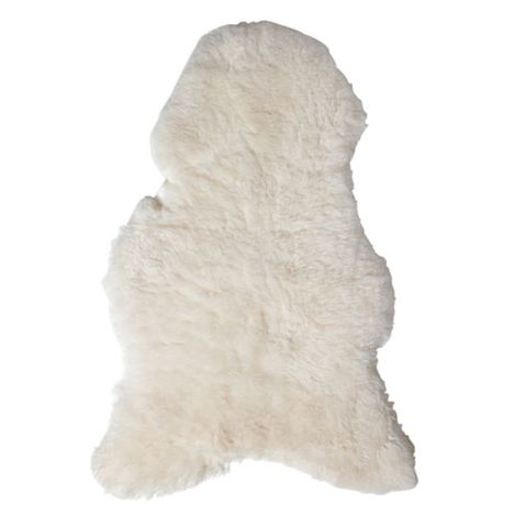 Serena & Lily Sheepskin Throw