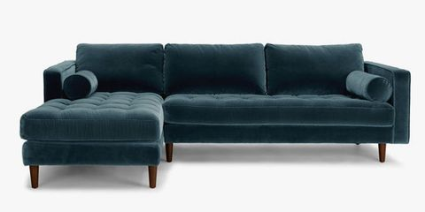10 Best Velvet Sofas & Chairs to Buy in 2018 - Green, Blue & Gray ...