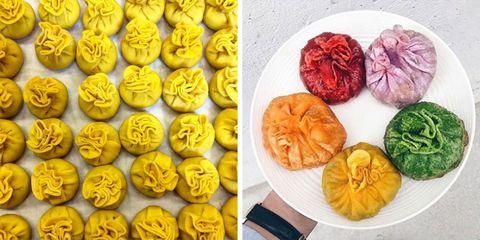 Workaholic has giant rainbow Korean dumplings in Los Angeles